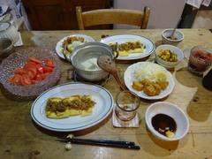 肉味噌を作って焼き油揚げに 美味しかった~~~.jpg